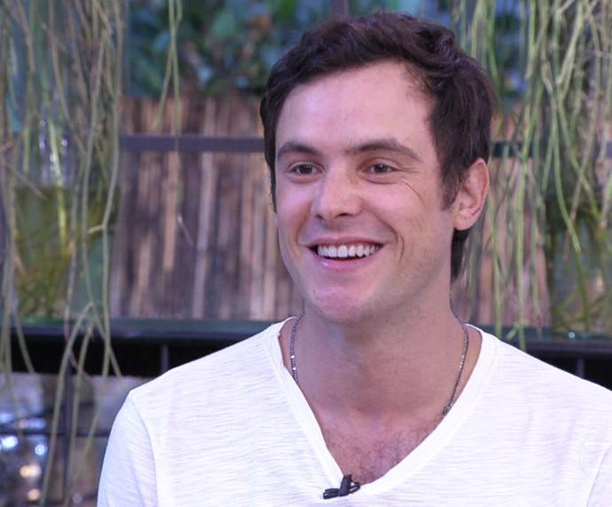 Sergio Guizé é o convidado do 'Mais Você' (Foto: TV Globo)