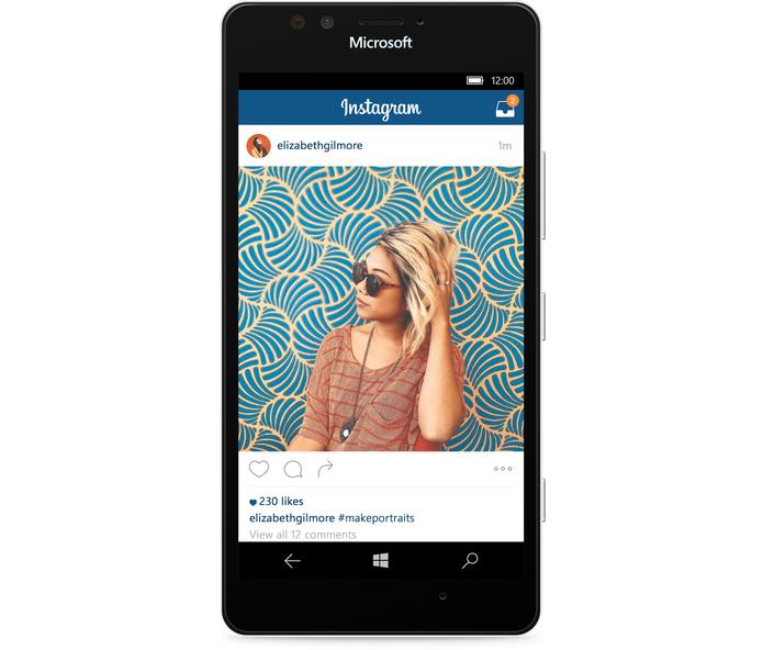 Instagram enfim chega em versão final com todos os recursos para Windows 10 Mobile (Foto: Divulgação/Facebook)
