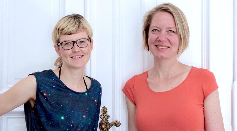Katja Thiede e Silvia Steude: cofundadoras do juggleHUB (Foto: Reprodução)