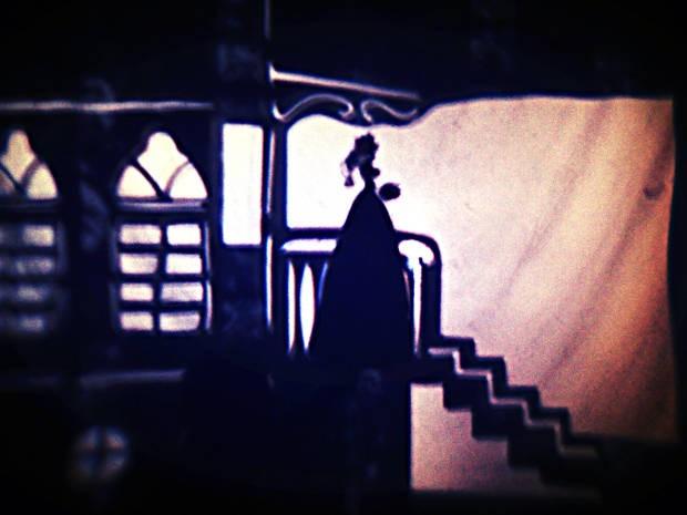 Espetáculo em Belém faz releitura de obra de Cervantes com a técnica do teatro de sombras. (Foto: Divulgação/Luciana Medeiros)