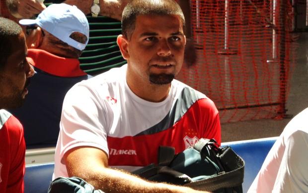 Goleiro Pablo está confiante na classificação (Foto: Felipe Martins/GLOBOESPORTE.COM)