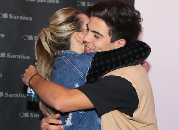 Larissa Manoela e Thomaz Costa (Foto: Thiago Duran/AgNews)