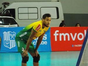 Índio entrou no lugar de Radke na última partida do MOC (Foto: Ricardo Guimarães/GE)