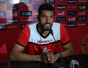 Glédson, goleiro do Campinense (Foto: Silas Batista / GloboEsporte.com)