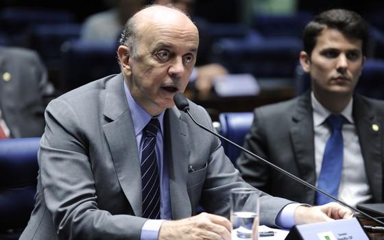 O senador José Serra (PSDB-SP), em foto 2015 (Foto: Moreira Mariz/Agência Senado)