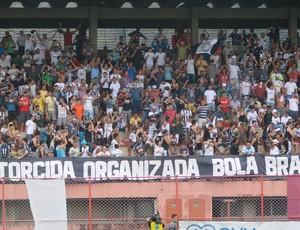 Copa Espírito Santo 2012: Festa das torcidas no jogo de ida da final Desportiva Ferroviária x Rio Branco-ES (Foto: Eduardo Dias/Globoesporte.com)