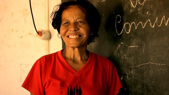 'Vozes do Velho Chico' conta a história da professora Nazareth da Rocha (Foto: TV Bahia)