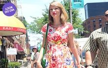 Look do dia: Taylor Swift aposta no visual supercolorido em Nova York