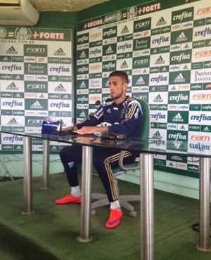 Rafael Marques Palmeiras entrevista (Foto: Fabricio Crepaldi)