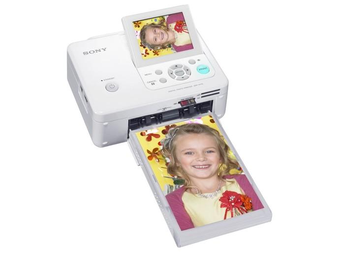 Impressora fotográfica a laser DPP-FP75, da Sony (Foto: Divulgação/Sony)