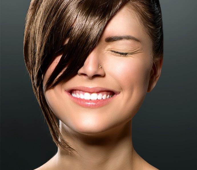 Você pode forjar uma franja com o próprio cabelo para uma ocasião especial (Foto: Divulgação)