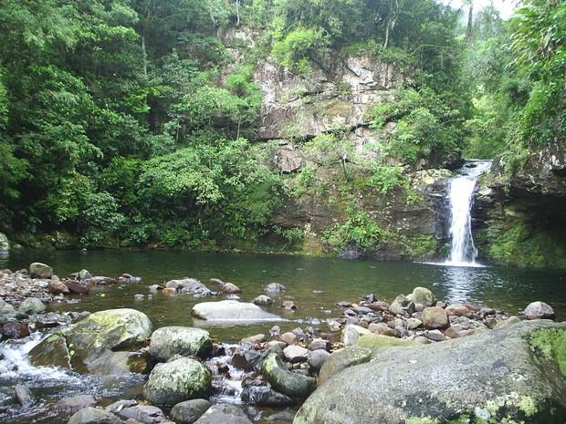 Poço das Andorinhas Três Cachoeiras (Foto: Prefeitura de Três Cachoeiras/Divulgação)