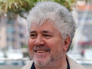 17/05 – O cineasta espanhol Pedro Almodóvar divulga o filme argentino 'Relatos salvajes', do qual é produtor (Foto: Loic Venance/AFP)