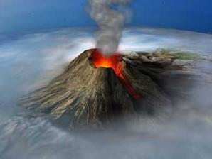 Proteção de Tela:  3D Volcano