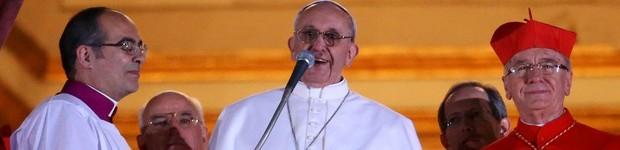 ASSISTA AO VIVO: novo Papa argentino inova e pede oração para si mesmo (Peter Macdiarmid/Getty Images)