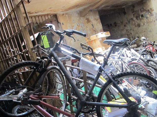 bicicletas (Foto: Kleber Tomaz / G1)
