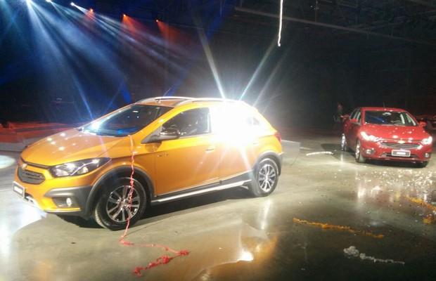 Novos Chevrolet Onix e Prisma são apresentados (Foto: Alexandre Izo)