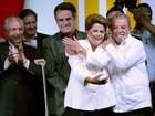 Veja imagens da festa da vitória da presidente reeleita (Ueslei Marcelino/Reuters)