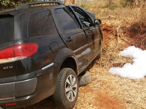 Vítima teria passado mal e perdido controle (Foto: Corpo de Bombeiros/ Divulgação)