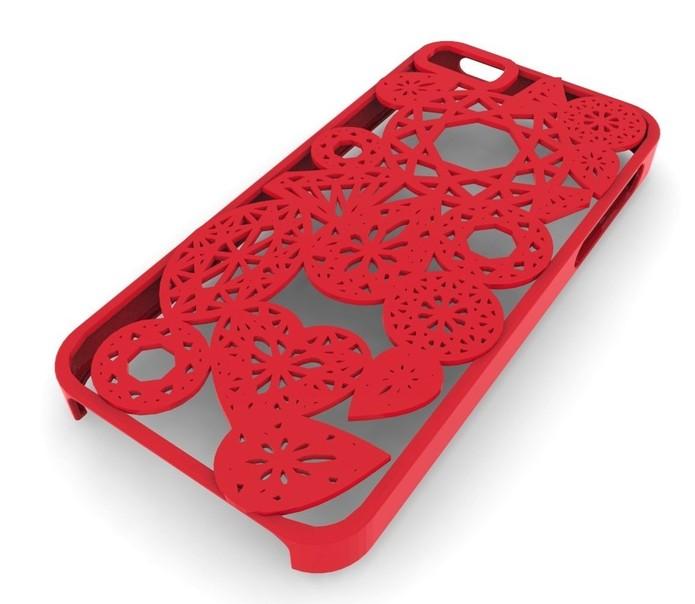 Capinha de celular feita com impressão em 3D (Foto: Reprodução/Amazon)
