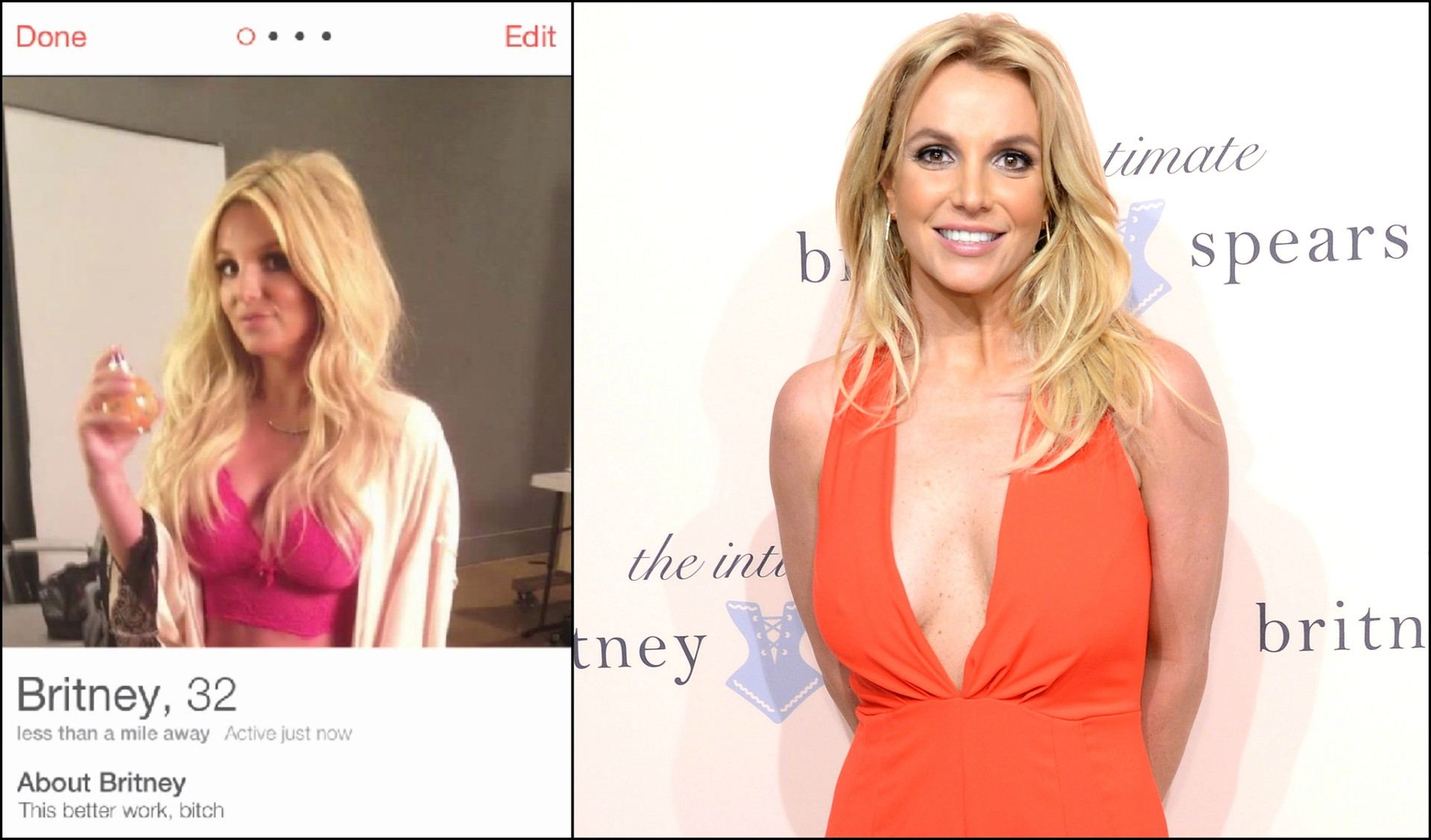 Britney Spears se inscreve no Tinder ao vivo no show do Jimmy Fallon - Mundo Nerd Info
