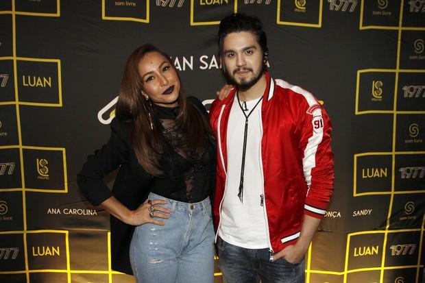 Sabrina Sato e Luan Santana (Foto: Celso Tavares / EGO)