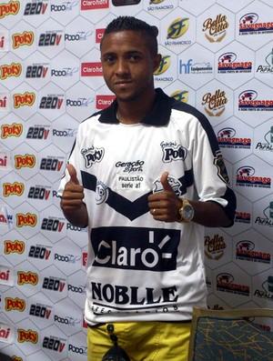 Clebinho, atacante do Comercial (Foto: João Fagiolo)