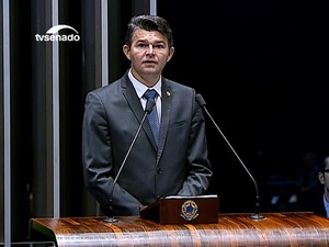 Senador Jose Medeiros (Foto: Reprodução/TV Senado)