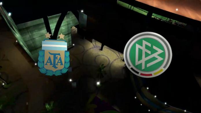 Simulação Copa do Mundo Fifa 2014: Alemanha x Argentina (Foto: Reprodução/Murilo Molina)