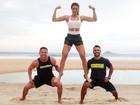 Renata Molinaro mostra treino ao ar livre para deixar corpo mais sequinho