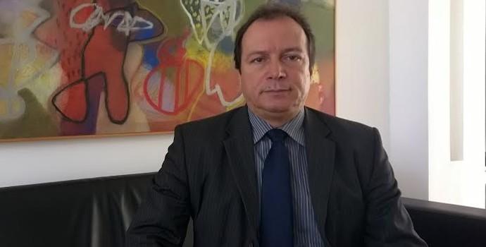 Watteau Rodrigues, presidente do Auto Esporte (Foto: Larissa Keren / GloboEsporte.com/pb)