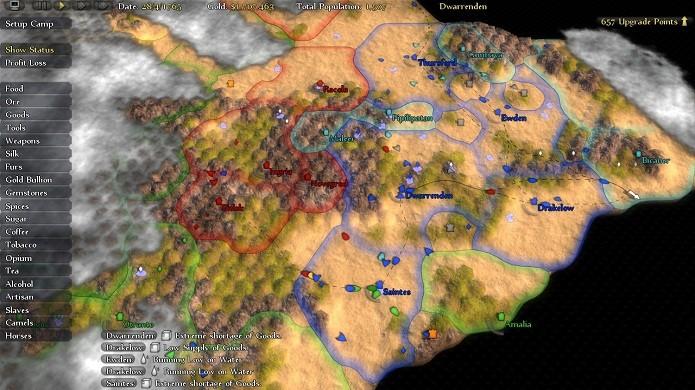 O mapa do mundo completo com todas as rotas e postos (Foto: Divulgação)