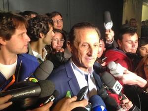 """Skaf diz que vai esperar """"poeira baixar"""" para pensar na eleição presidencial. (Foto: Glauco Araújo/G1)"""