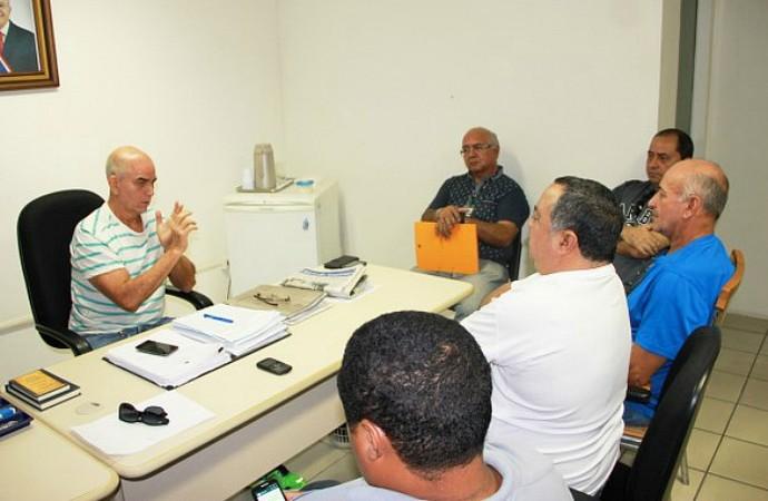 Reunião da FVO com dirigentes (Foto: Isaac Júnior/FVO)