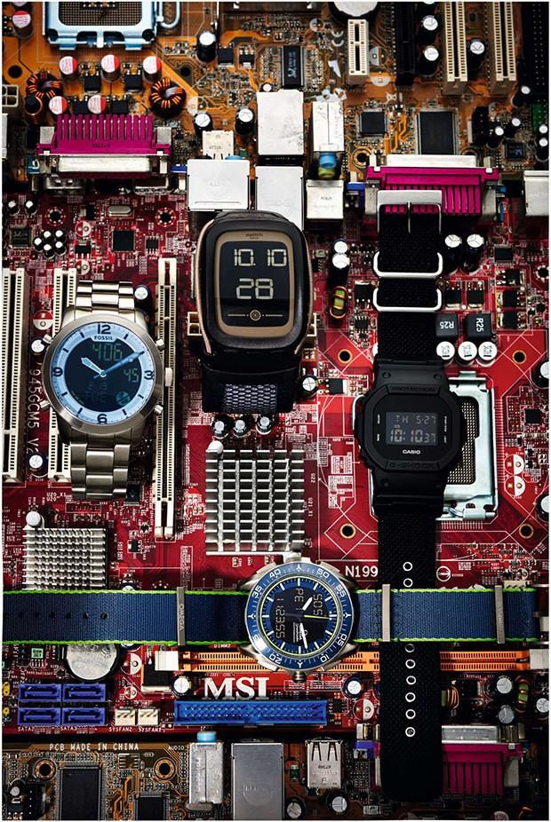 Relógios (Foto: Xico buny)