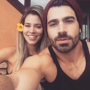 Adriana Sant´Anna e Rodrigão (Foto: Reprodução/Instagram)