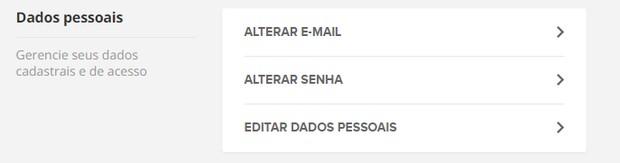 Globo Premium alterar senha  (Foto: Globo Premium )