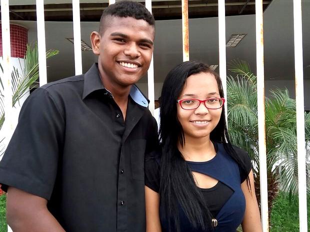 Casal busca oficializar união na 23ª Ação Global em São Luís (MA) (Foto: Danilo Quixaba/Mirante AM)