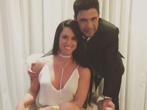 Graciele Lacerda com Zezé Di Camargo (Foto: Reprodução/Instagram)