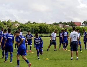 Elenco do Bahia treina no Fazendão (Foto: Divulgação / EC Bahia)