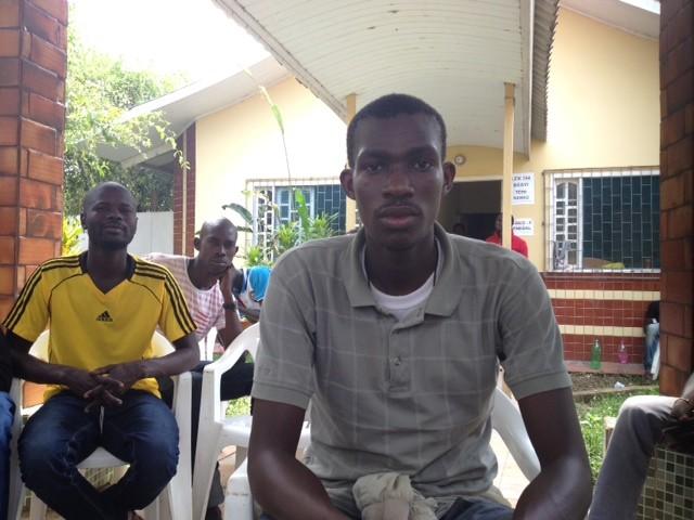 Senegalês Mamadou Bamba Sieng levou 15 dias para chegar ao Brasil (Foto: acre)