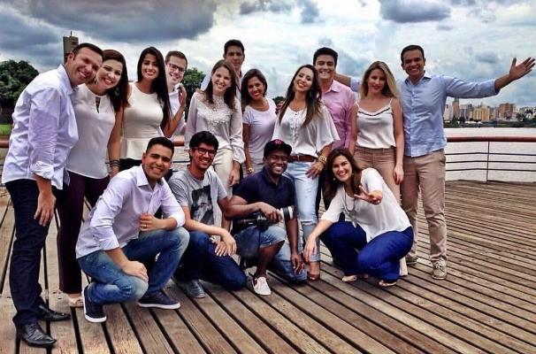 Apresentadores da TV TEM na região de Rio Preto (Foto: Reprodução/TV TEM)