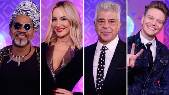 Carlinhos Brown, Claudia Leitte, Lulu Santos e Michel Teló cantam na Final do BBB17