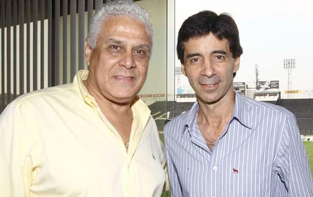 Dinamite e Mauro Galvão, Vasco da gama (Foto: Marcelo Sadio / Vasco.com.br)