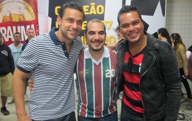 fred bruno sérgio sorriso maroto (Foto: Edgard Maciel de Sá / Globoesporte.com)