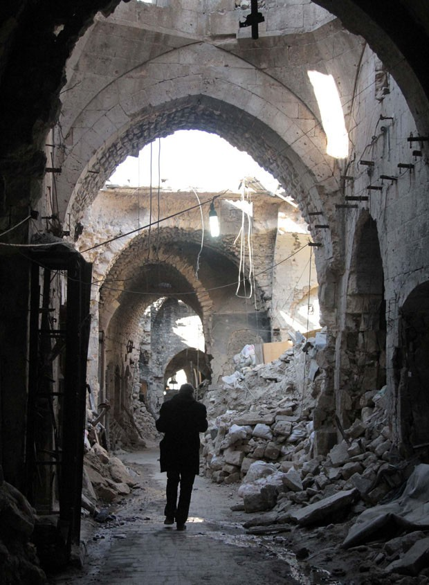 Guerra na Síria destrói monumentos importantes do país