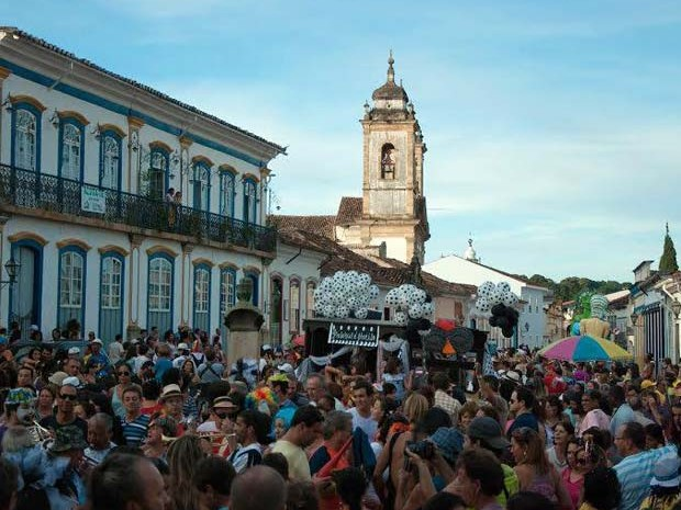 Carnaval São João del Rei, MG (Foto: Thiago Morandi/Arquivo Pessoal)