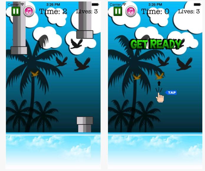 Flappy Bird Flyery (Foto: Reprodução/App Store)
