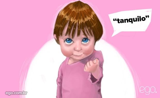 Dia das Crianças - Tanquilo  (Foto: Ilustração: Enderson Santos / Ego)