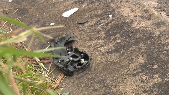 Acidente na BR-101 em Sooretama mata motociclista e moto pega fogo